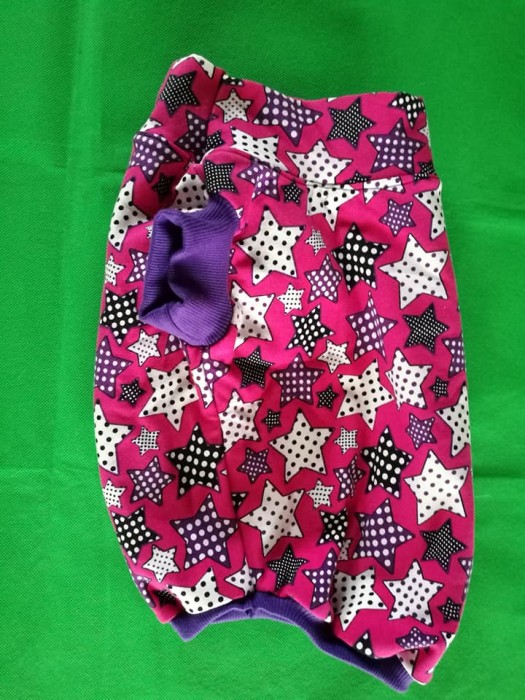 Hundesweater Pink Sterne
